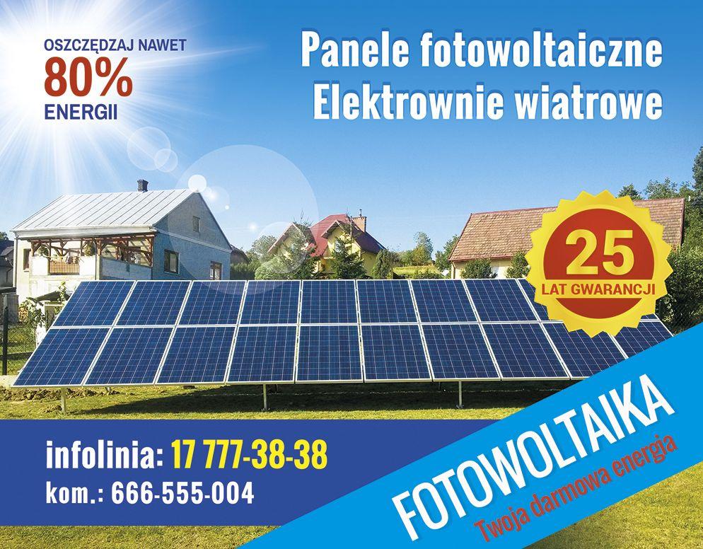 Spotkanie informacyjne nt. instalacji paneli fotowoltaicznych i elektrowni wiatrowych