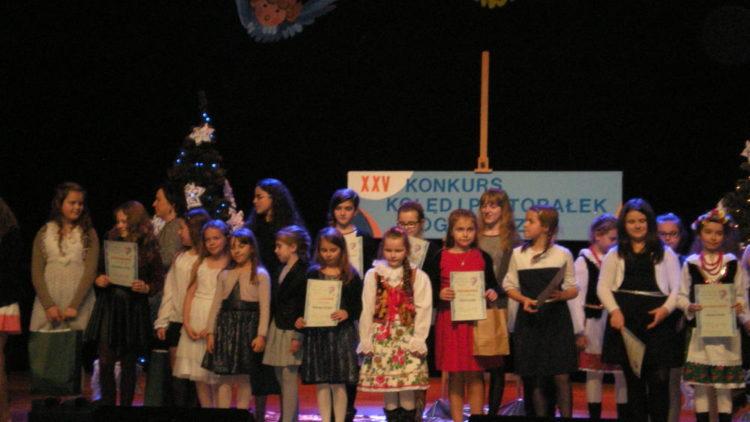 Sukces uczennicy ZS Iwonicz-Zdrój w XXV Konkursie Kolęd i Pastorałek Pogranicza