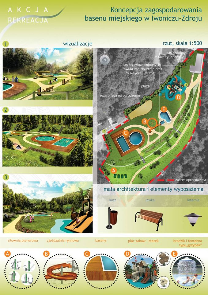 Ruszyły przygotowania do zagospodarowania terenu po zdegradowanych basenach kąpielowych w Iwoniczu -Zdroju