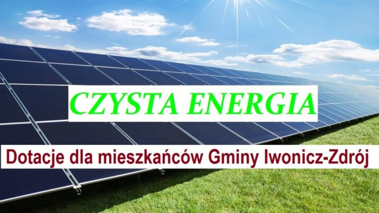 Umowy o dofinansowanie instalacji OZE