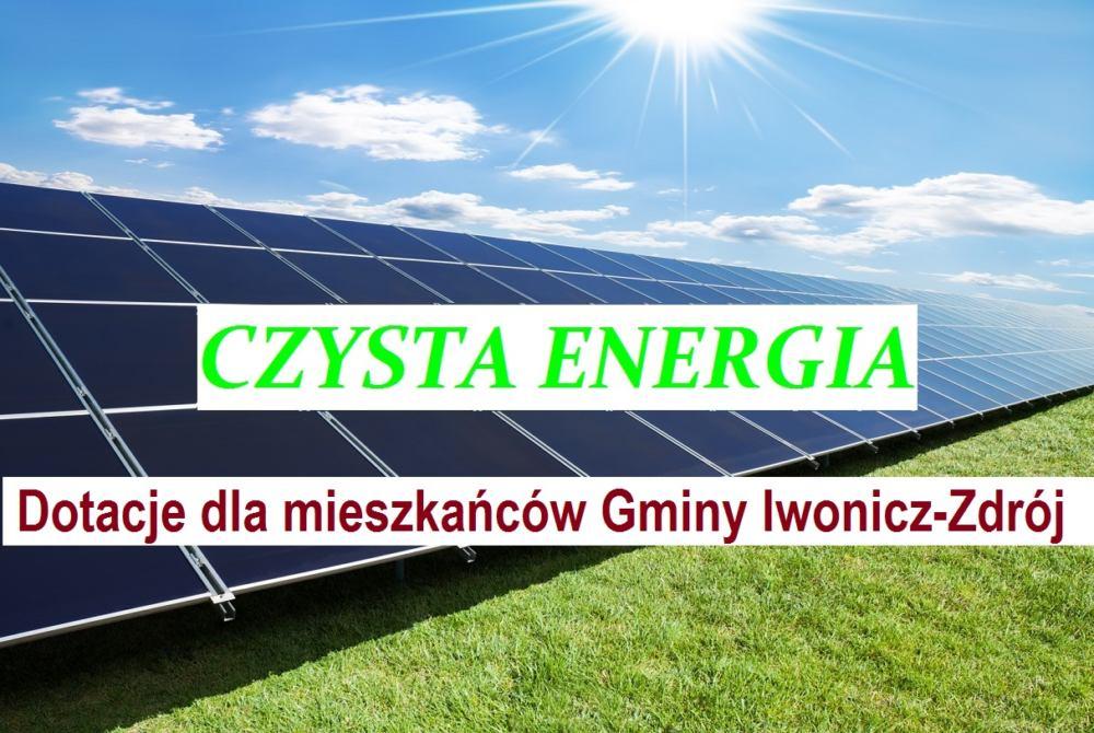 Odnawialne źródła energii – kończy się termin składania wniosków!