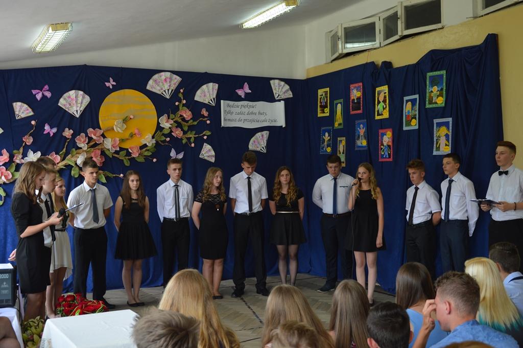 Zakończenie Szkoły uczniów III klasy gimnazjum