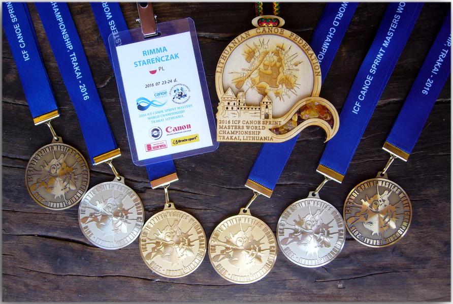 Sukces Rimmy Stareńczak z Iwonicza-Zdroju w Mistrzostwach Świata Masters w kajakarstwie klasycznym