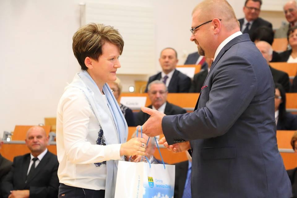 Mieszkanka Lubatówki wyróżniona podczas uroczystej inauguracji nowego roku akademickiego 2016/17 PWSZ w Krośnie