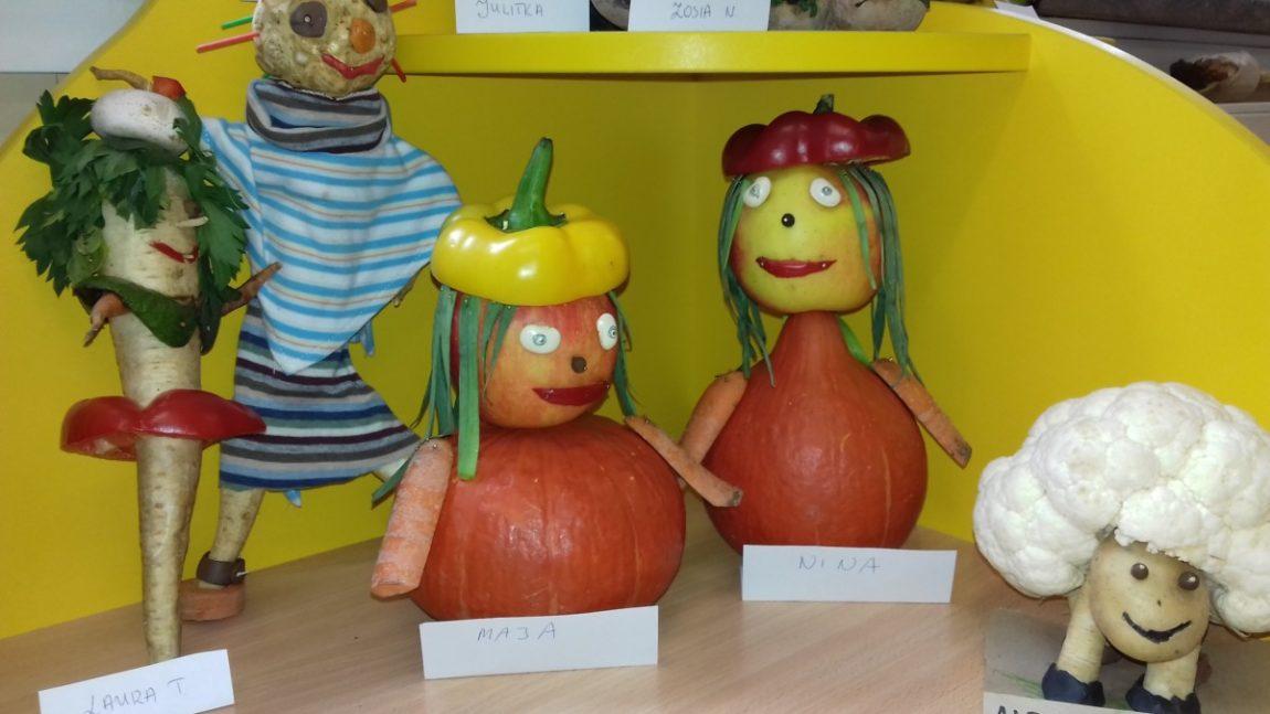 Postacie z owoców i warzyw