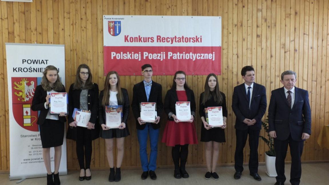 Finał  XI  Powiatowego  Konkursu  Polskiej  Poezji  Patriotycznej