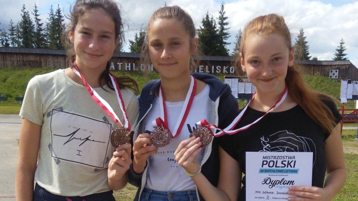 Biathloniści na piątkę !!!