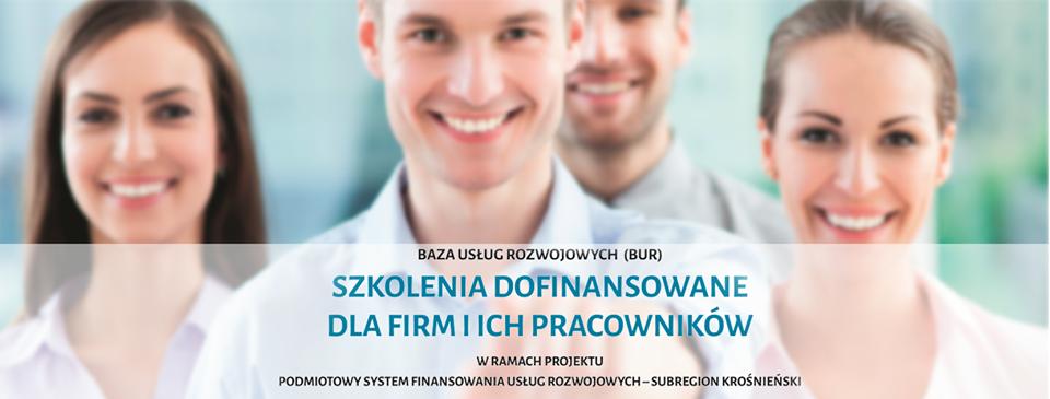 Dofinansowane szkolenia dla firm