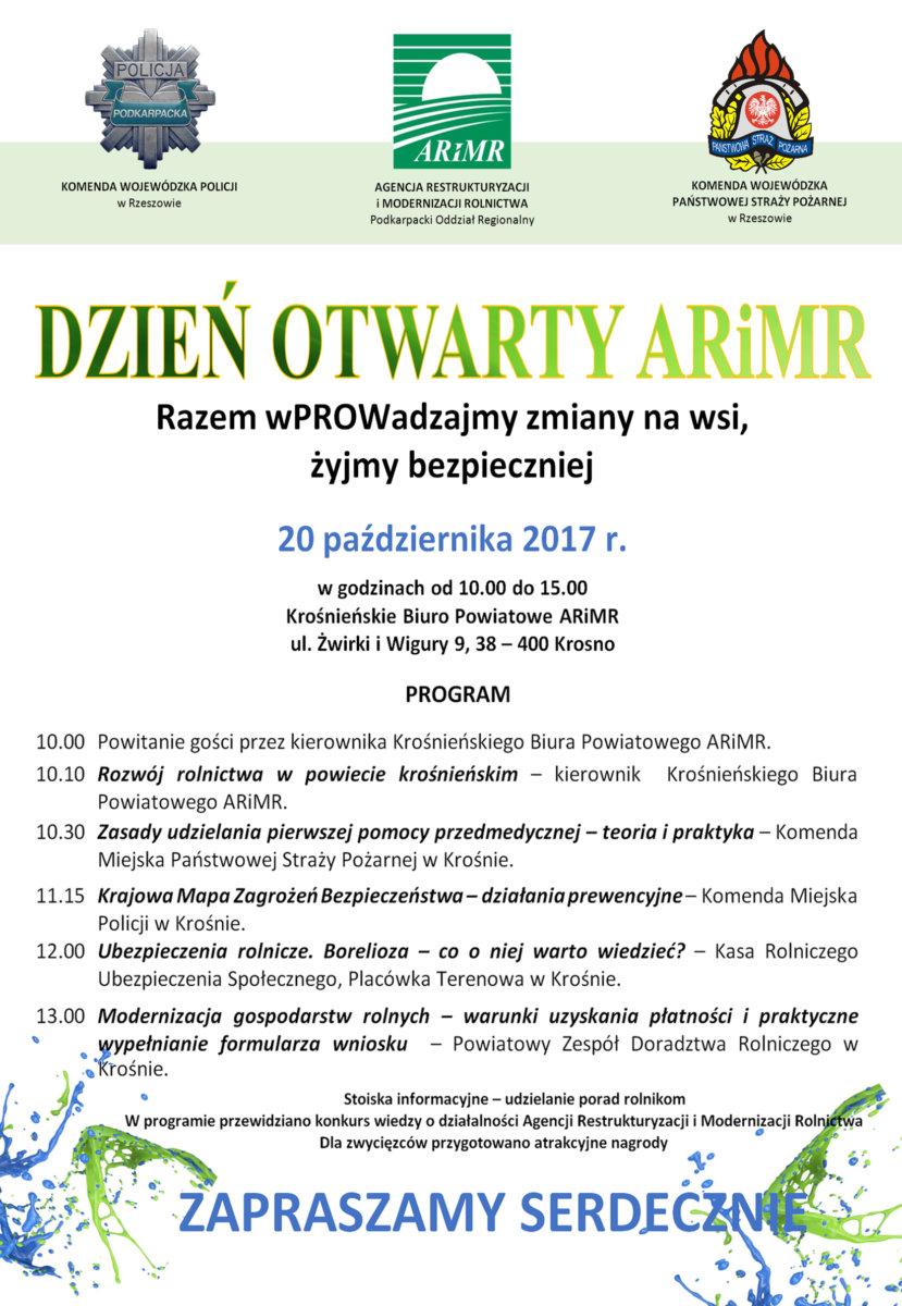 Dzień Otwartych Drzwi w Krośnieńskim Biurze Powiatowym ARiMR