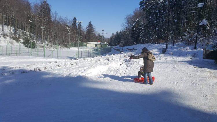"""Stok na górze Winiarskiej oraz w okolicy """"Amfiteatru"""" przygotowany do zimowych szaleństw"""