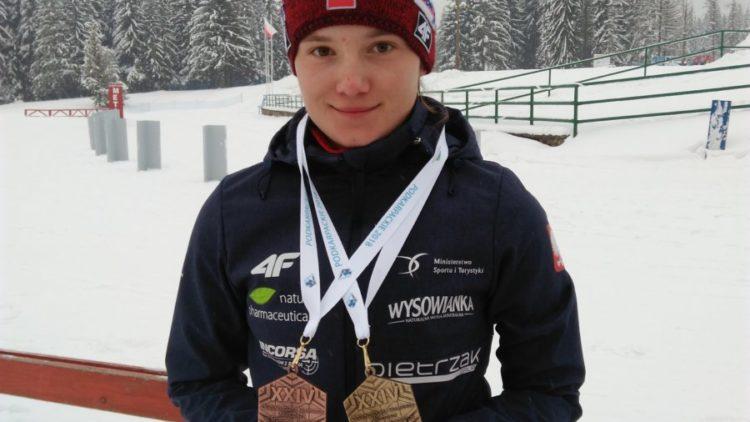 Komplet medali Kamili Cichoń