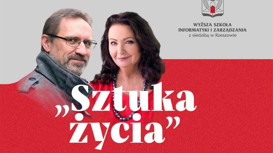 Anna Dymna i Wojciech Bonowicz gośćmi WSIiZ