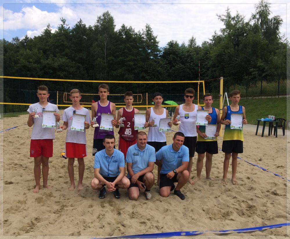 Mistrzostwa Podkarpacia Młodzików w siatkówce plażowej