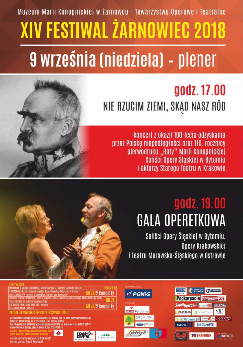 XIV Festiwal Żarnowiec 2018