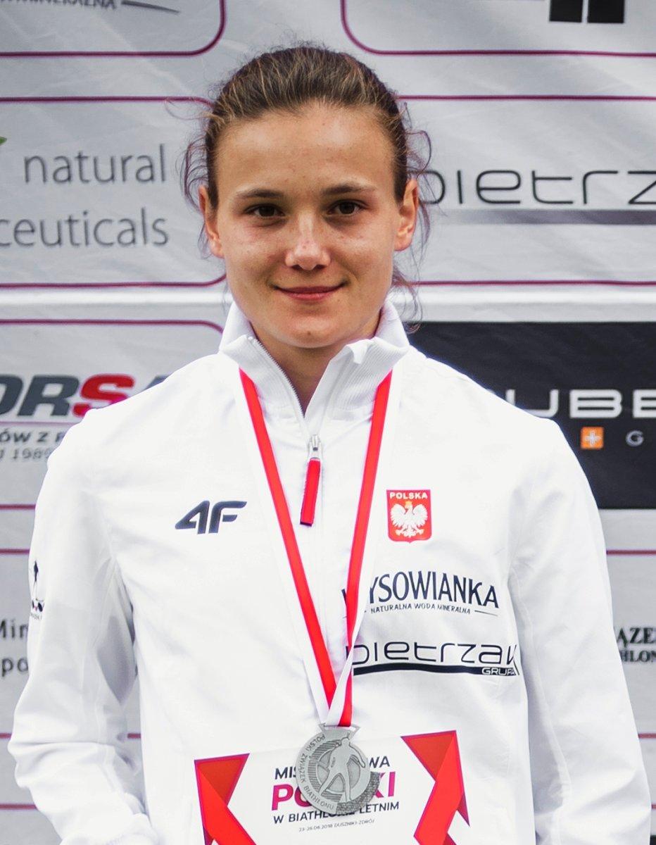 "Dwa ""srebra"" Kamili Cichoń"