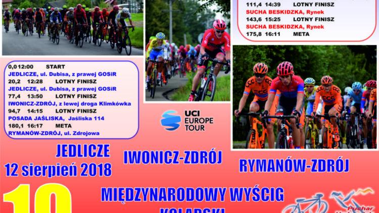 """Wyścig Kolarski o """"Puchar Uzdrowisk Karpackich"""" – 12 sierpnia (niedziela)"""