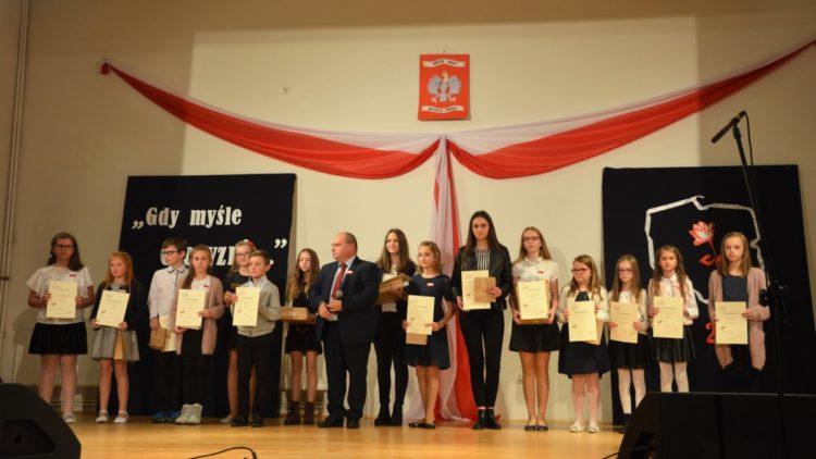 """Powiatowy konkurs literacki """"Moja Niepodległa"""""""