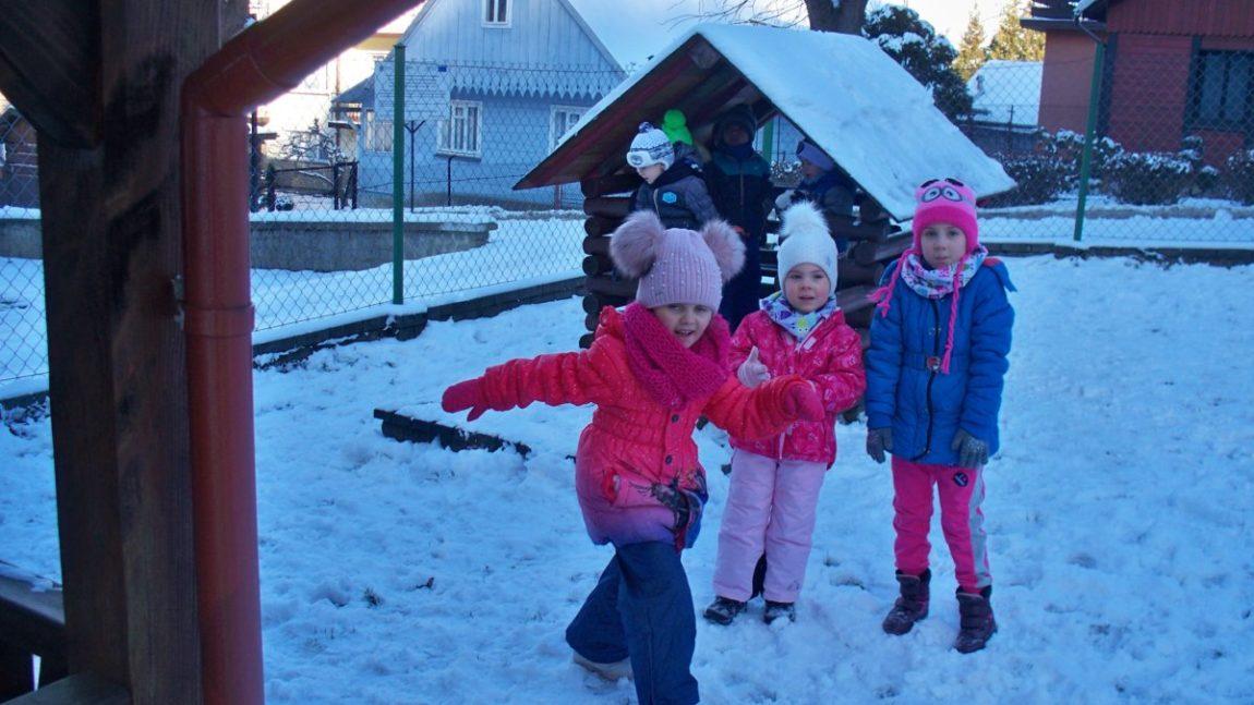 Zabawy na śniegu