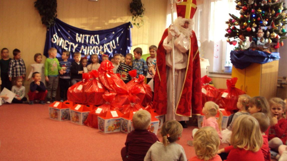 Św. Mikołaj w przedszkolu