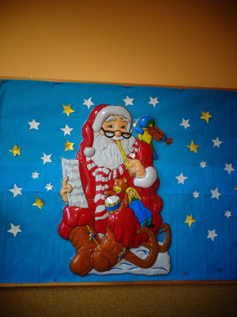 Wizyta Św. Mikołaja.