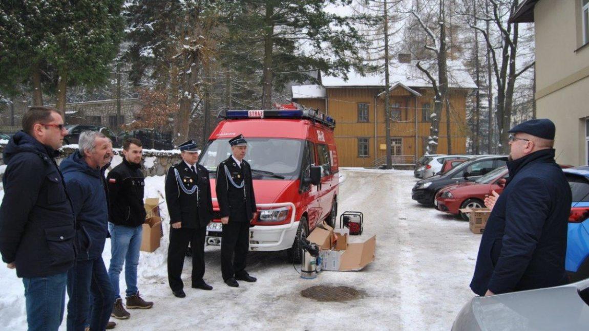 Doposażenie gminnych jednostek straży pożarnej