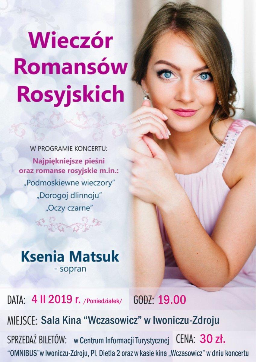 Wieczór romansów rosyjskich