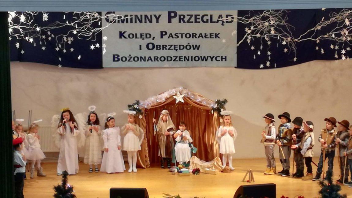 Gminny Przegląd Kolęd i Pastorałek.