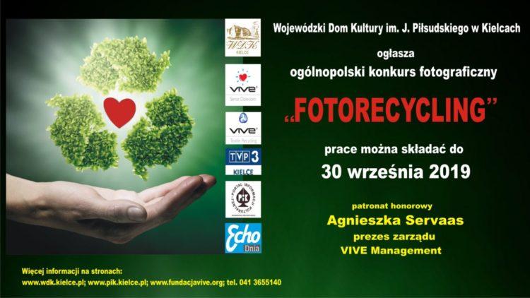 """Ogólnopolski konkurs fotograficzny """"fotorecycling"""""""