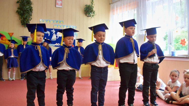 Uroczyste zakończenie roku w przedszkolu