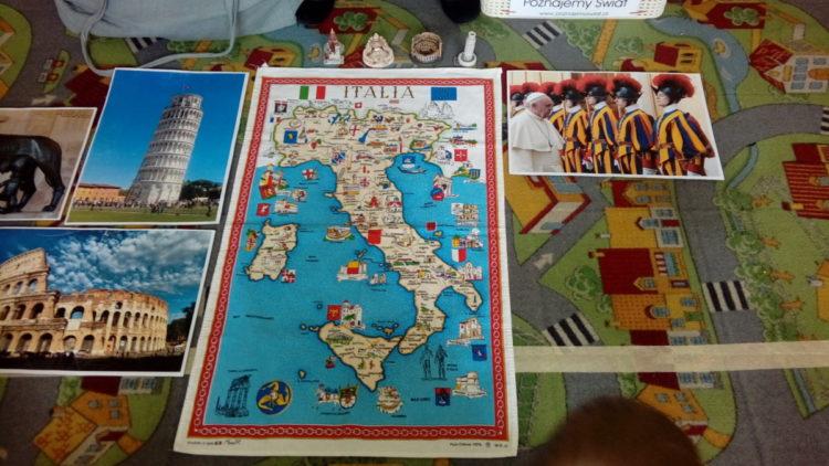 Warsztaty podróżnicze Włochy.