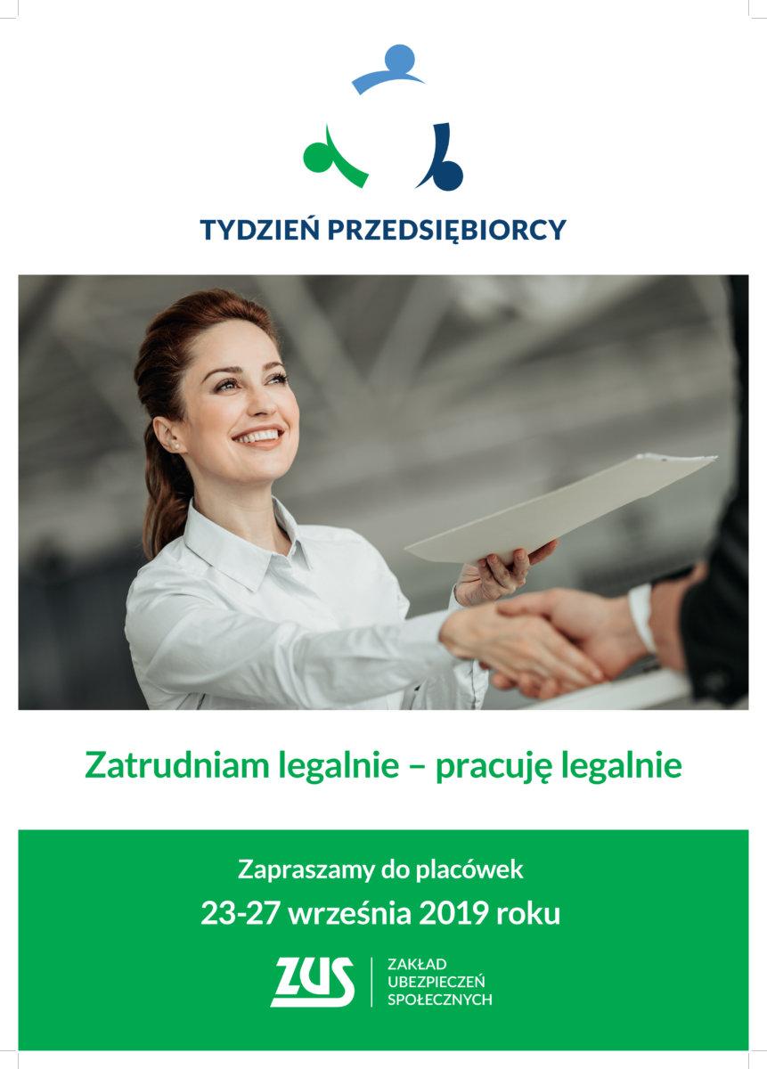 Tydzień Przedsiębiorcy w ZUS – rusza rejestracja na bezpłatne seminaria na Podkarpaciu