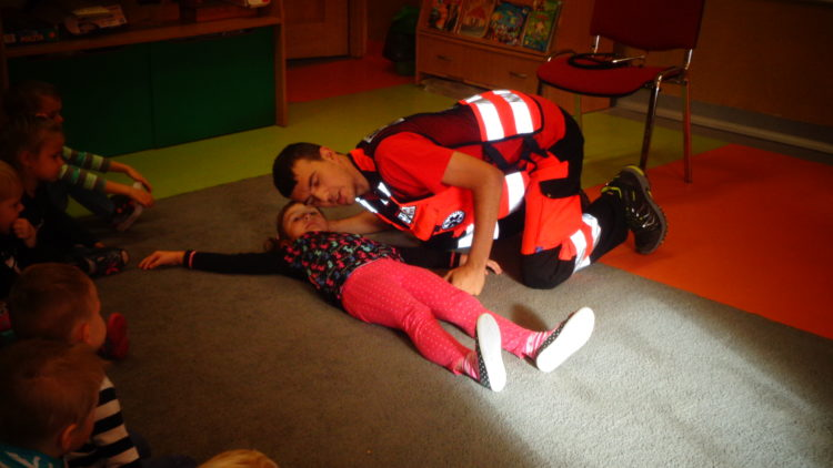 Spotkanie z ratownikiem medycznym