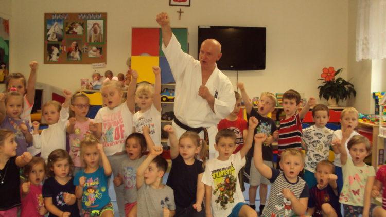 Zajęcia karate w przedszkolu