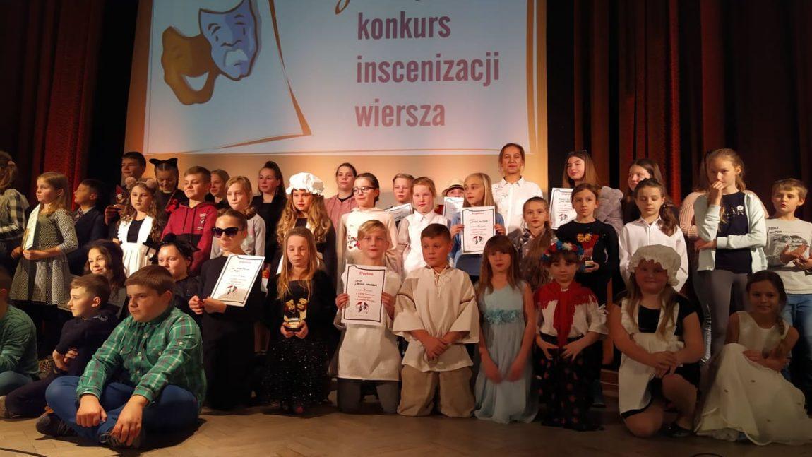 XXVI Gminny Konkurs Inscenizacji Wiersza