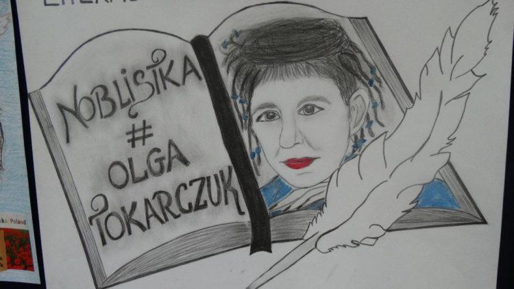 """Finał konkursu powiatowego pn. """"Sylwetka Noblistki – Olga Tokarczuk"""""""