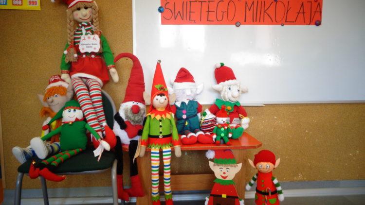 Elf – pomocnik Św. Mikołaja – konkurs wewnątrzprzedszkolny