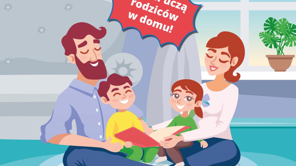 Dzieci uczą rodziców w domu! – darmowe materiały do nauki w domu
