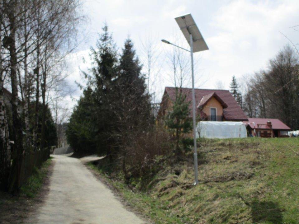 Nowe oświetlenie uliczne w Lubatowej i Lubatówce