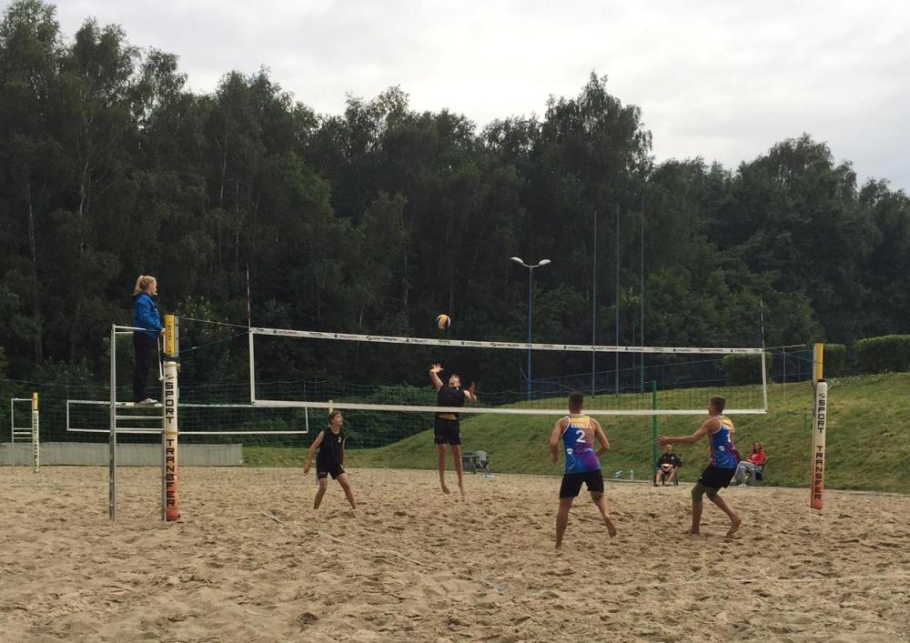 Półfinały Mistrzostw Polski kadetów w siatkówce plażowej