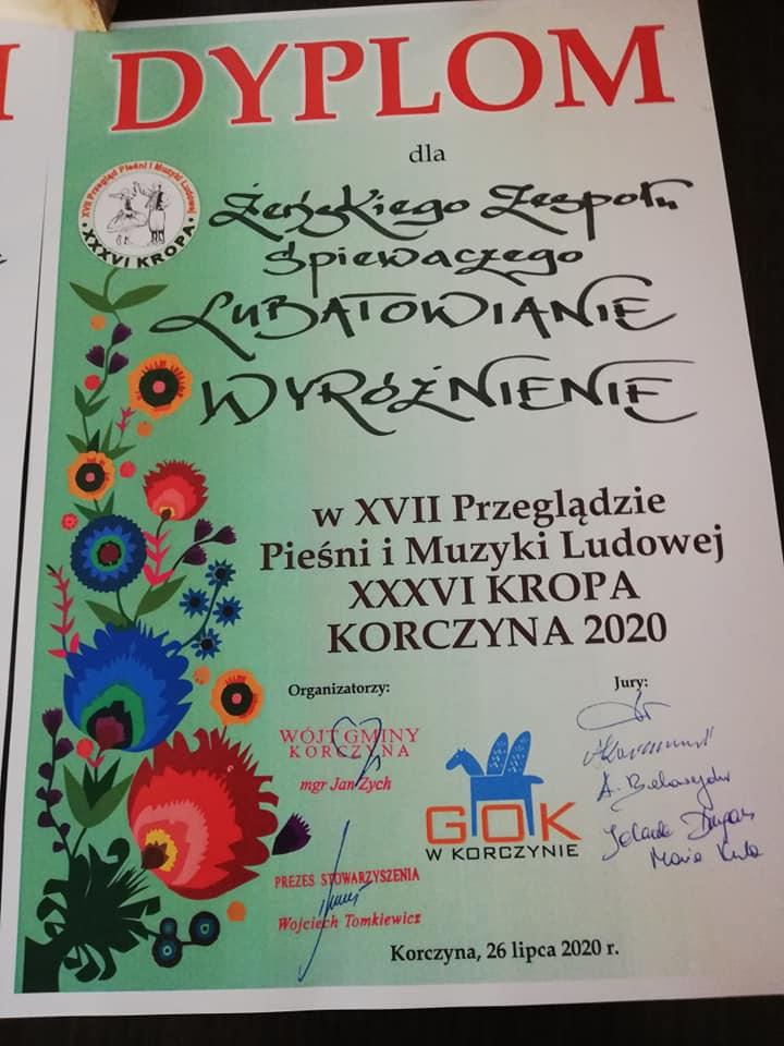 Konkurs KROPA w Korczynie