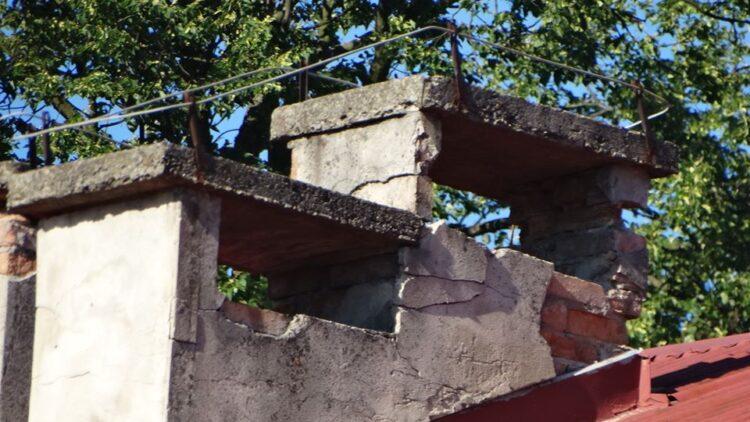 Remont kominów SP w Iwoniczu