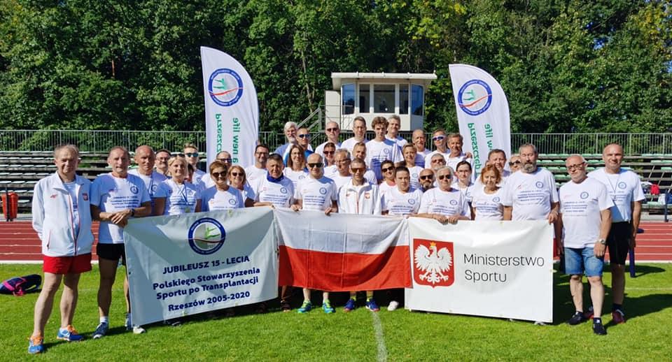 Jubileusz 15 lecia Polskiego Stowarzyszenia Sportu po Transplantacji z siedzibą w Iwoniczu-Zdroju.
