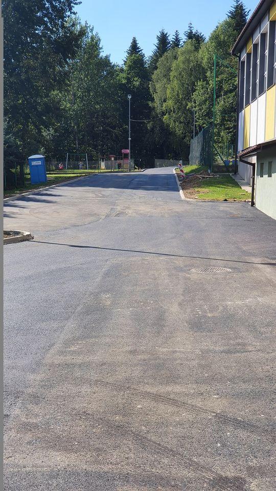 Remont parkingu przy szkole podstawowej w Iwoniczu-Zdroju
