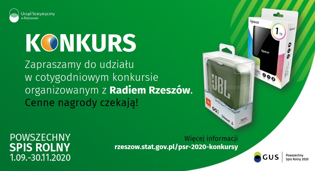 PSR 2020 konkurs z Polskim Radiem Rzeszów