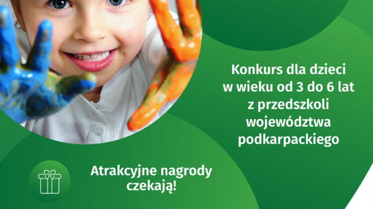 Konkurs plastyczny dla przedszkolaków