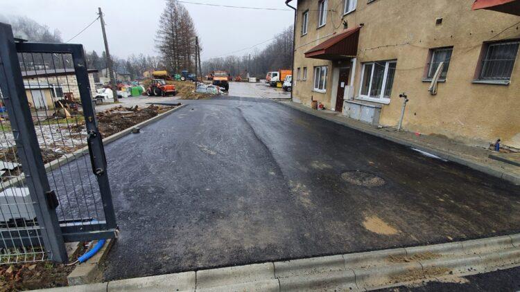 Remonty dróg w gminie