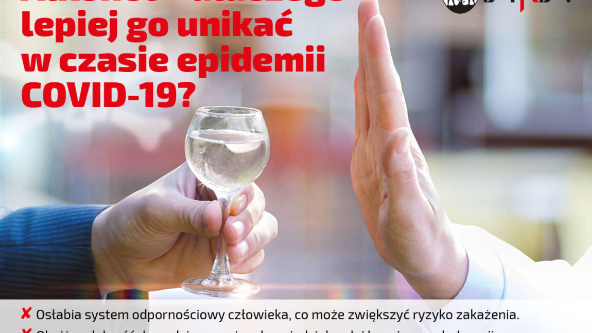 Alkohol i koronawirus.