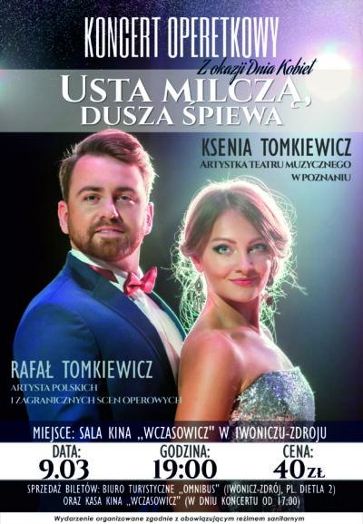 Koncert Operetkowy z Okazji Dnia Kobiet