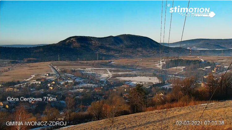Nowa kamera obrotowa na Żabiej Górze