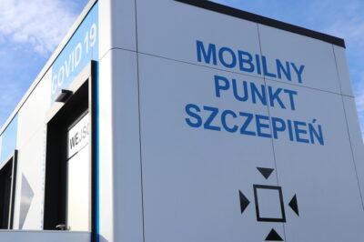 Mobilny punkt szczepień covid-19 w Iwoniczu-Zdroju